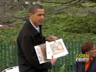 Obama Knows Where the Wild Things Are