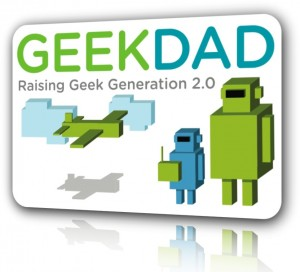 My First Post on GeekDad