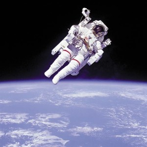 NASA untethered space walk