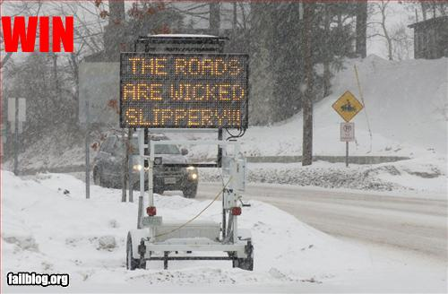 New England Winter Weather Signs