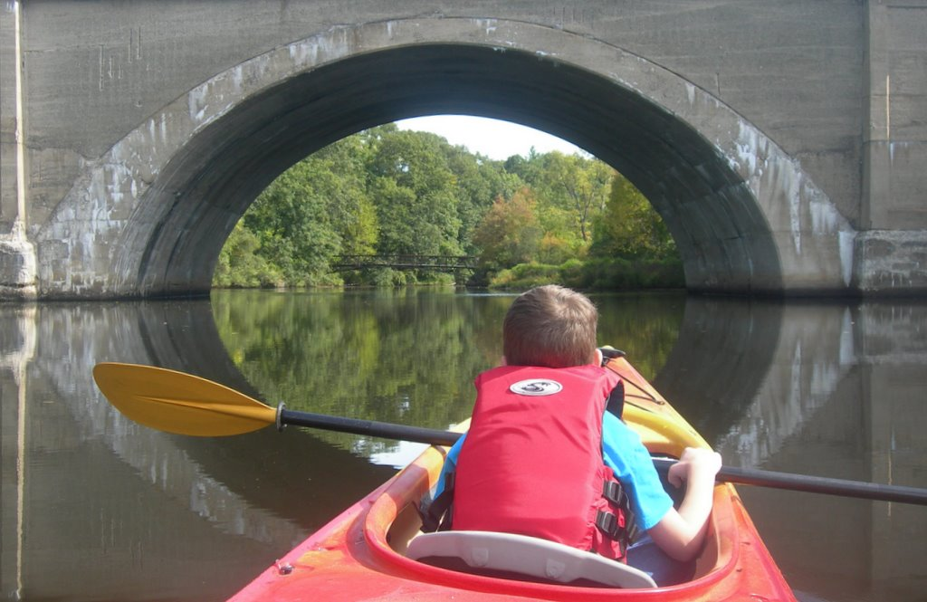 Paddling in the Lakes District of the Charles River (Part I)