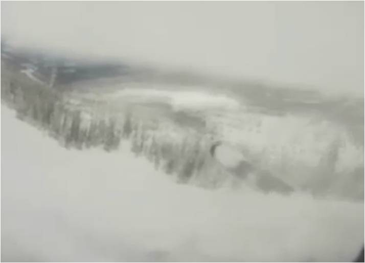 What is it Like to be Inside an Avalanche?