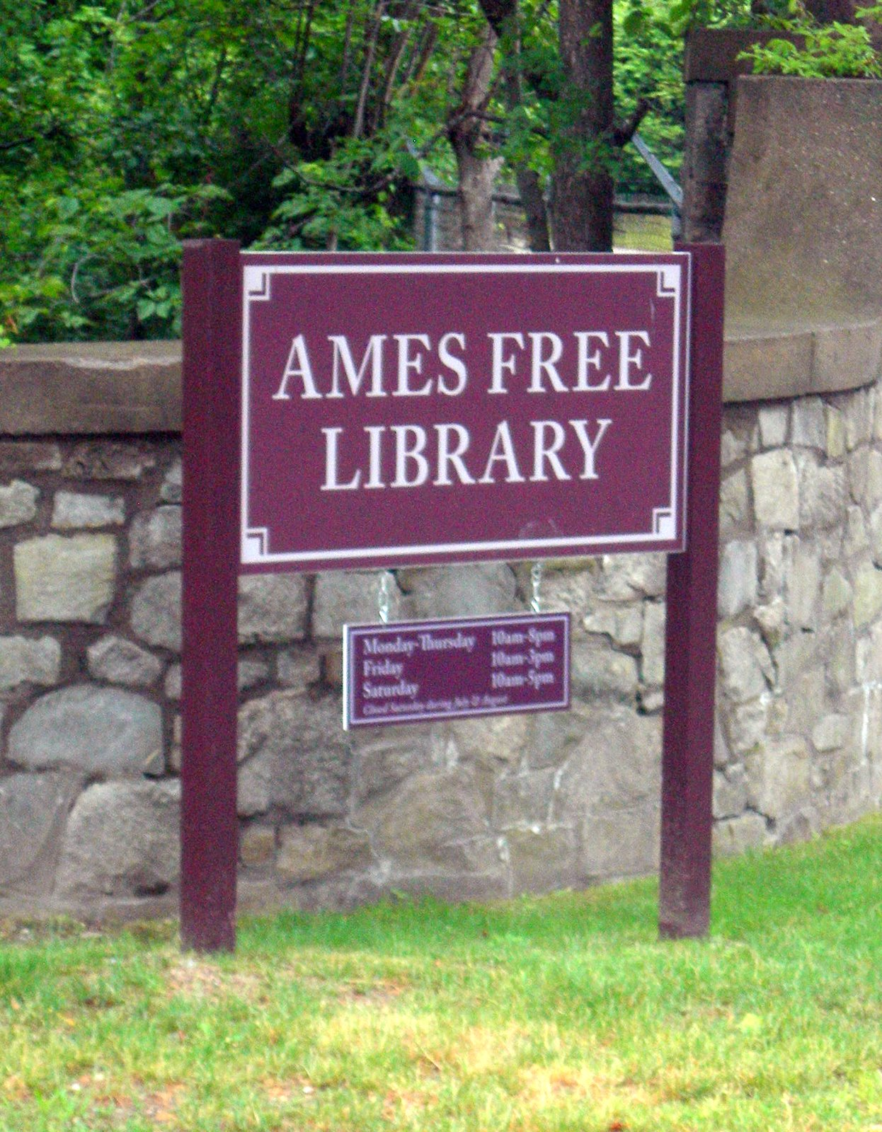 Ames Free Library