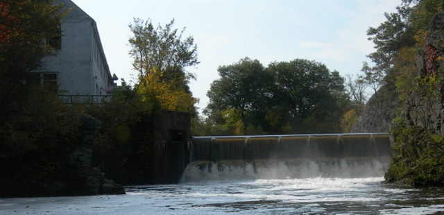 Silk Mill Dam in Hemlock Gorge