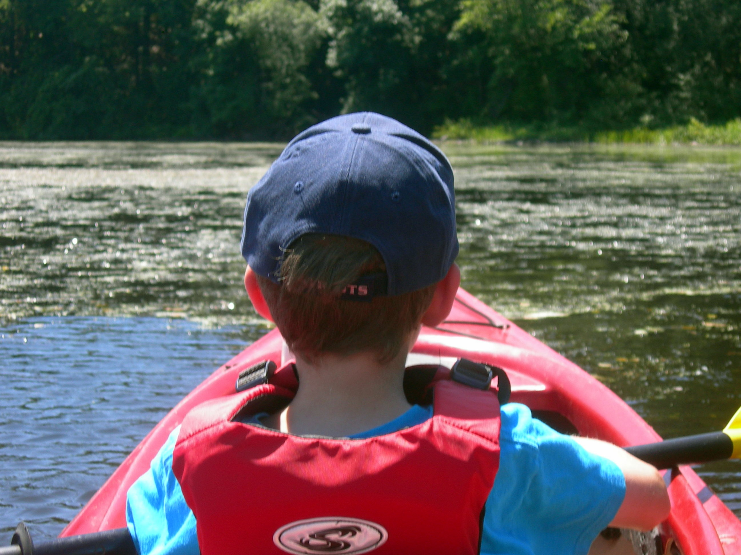 Paddling the Dedham Loop