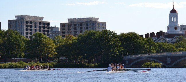 Traffic on the Charles River