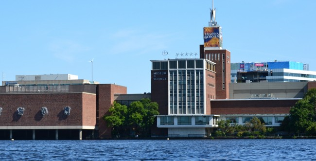 Museum of Science and the Old Charles River Dam