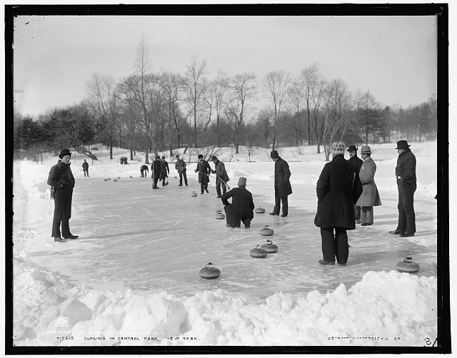 Curling in the Park