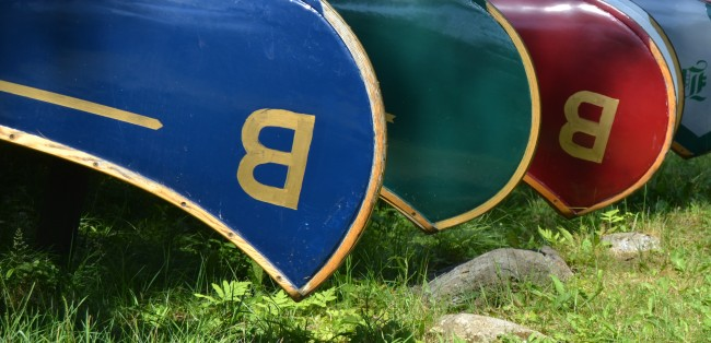 becket war canoes