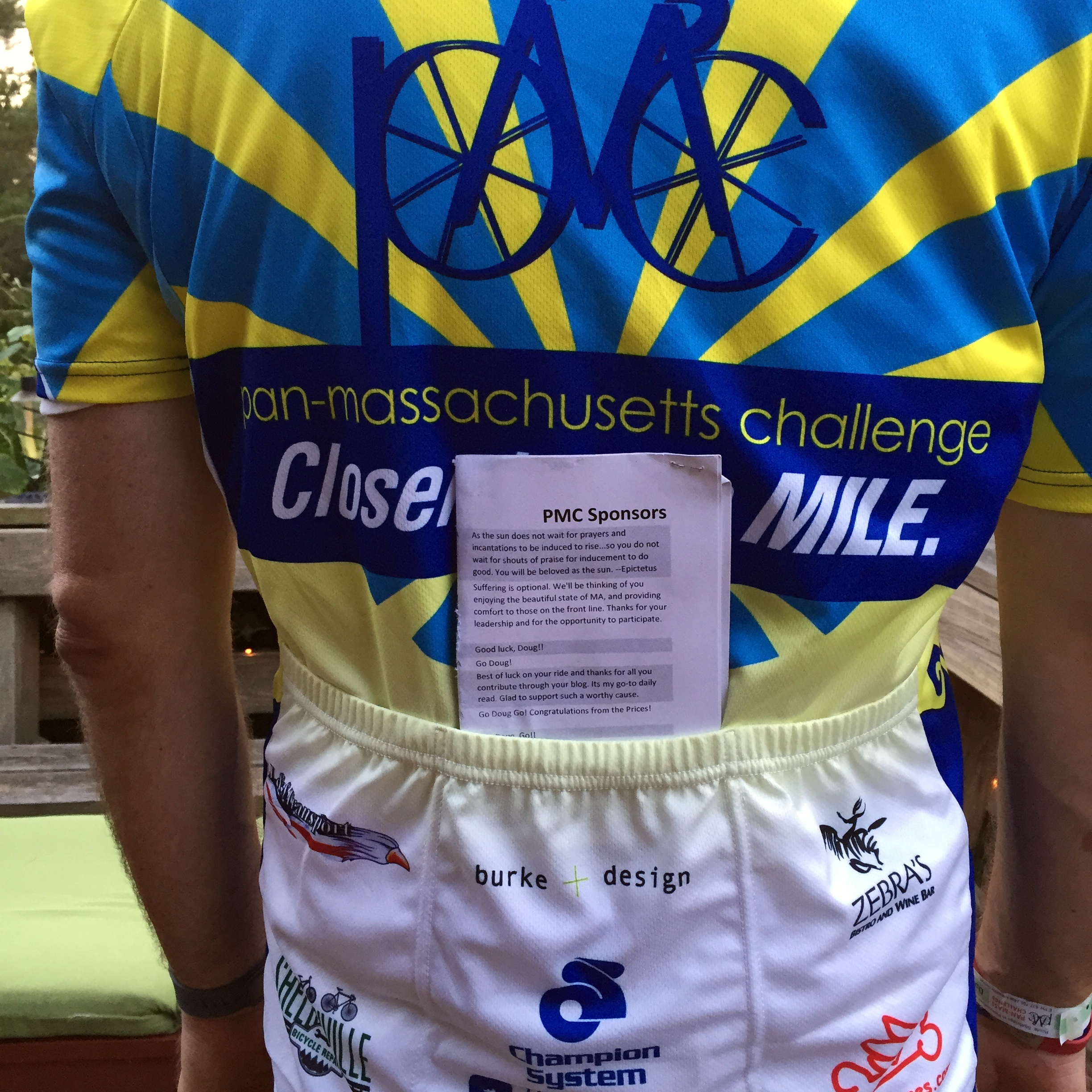 Pan-Mass Challenge Day Two