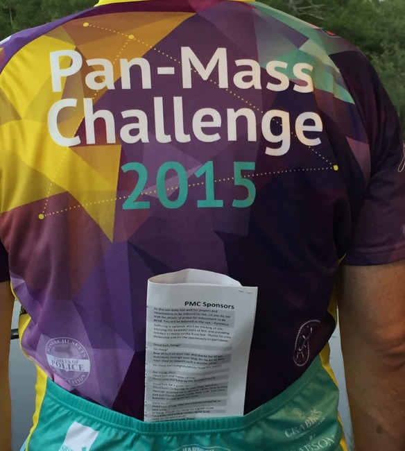 Pan-Mass Challenge Day One