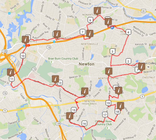 tour de newton map