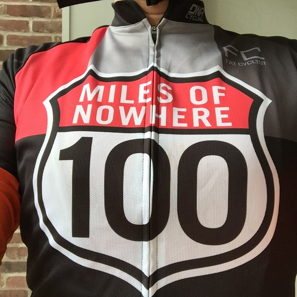 100 Miles of Nowhere or 100 kM of Newton Bike Ride