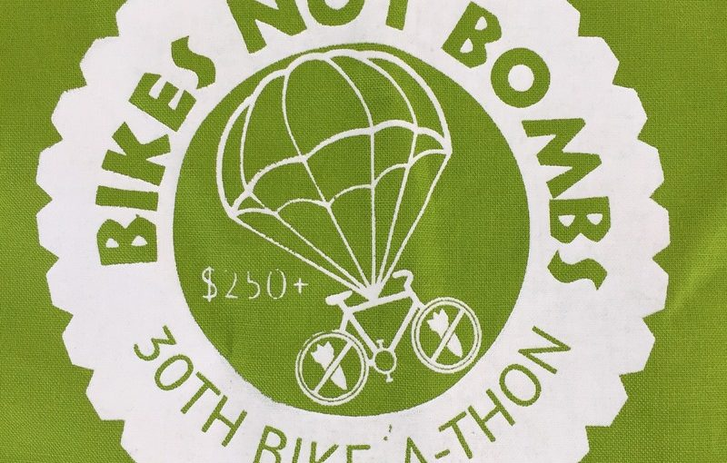 Bikes Not Bombs Bike-a-thon 2017